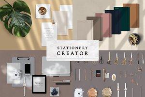 STATIONERY CREATOR + SHADOWS
