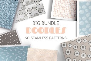DOODLES seamless patterns
