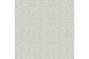 Coffee vector seamless pattern