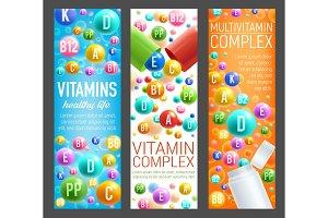 Multivitamin health complex pills
