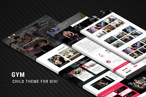 GYM - Child Theme for Divi