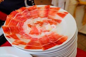 Cutting iberico ham I