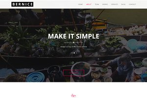 Bernice - Business Template