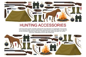 Hunting equipment and ammunition