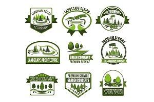 Parks and gardens landscape design
