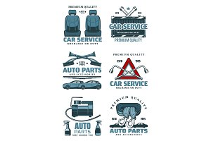 Car auto service and spare parts