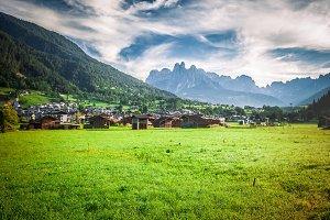 Mezzano val di Primiero Dolomites