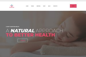 AcuPress - Holistic WordPress Theme