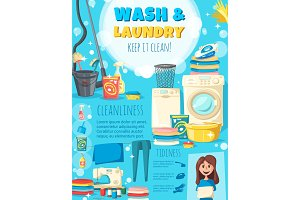Home wash and laundry service