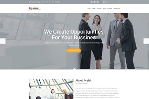 Assist - Corporate WordPress Theme