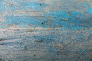 Old Blue wooden texture background