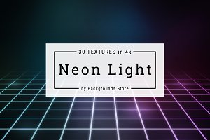 Neon Light Digital Backgrounds