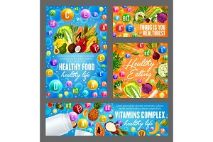 Vitamins and healthy nutrition