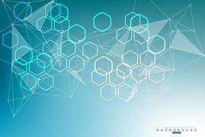Geometric abstract backgroun