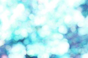 Soft blue bokeh background