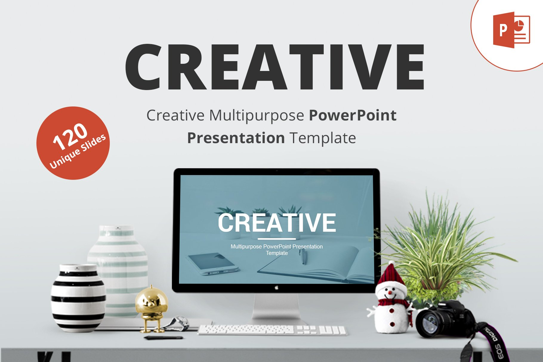 Creative Powerpoint Template Presentation Templates Creative Market