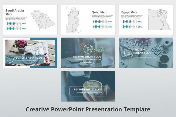 creative powerpoint template presentation templates creative market