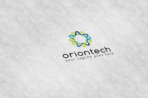Oriontech Logo Template
