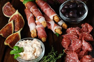 Meat dish Antipasto