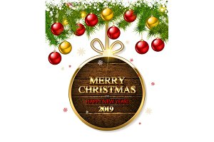 Set Beautiful Christmas Cards