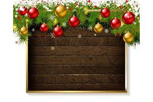 Set beautiful Christmas backgrounds