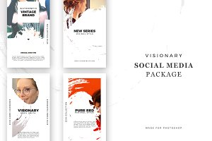 Visionary - Social Media Package