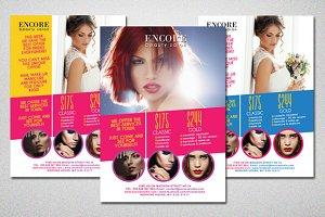 Beauty Salon Colorful Flyer