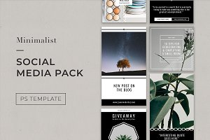 Minimalist Instagram Pack