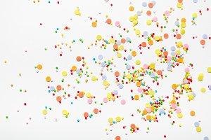 Sugar sprinkle dots