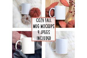 Cozy Fall Mug Mockups