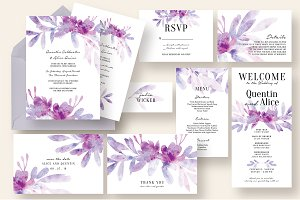 Dreamy Floral & Leaves Wedding Suite