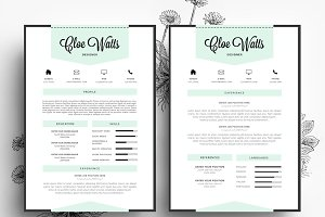 resume business card psd template - Resume Business Cards