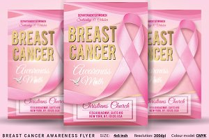 Breast Cancer Awareness Flyer