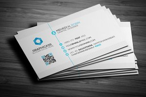 Simple Business Card Design vol-02
