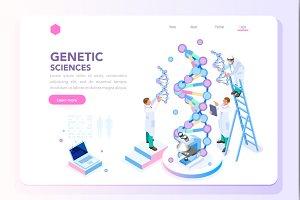 Genetics Laboratory Biotech Homepage