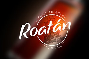 Roatan | A font to relax the soul