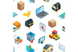 Vector isometric logistics delivery
