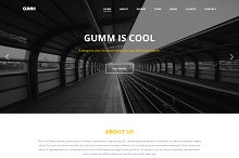 Gumm - Business Template