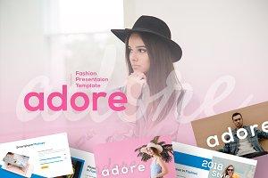 Adore Fashion Presentation Template