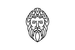 Zeus God of Sky and Thunder Mono Lin