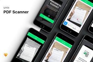 PDF Scanner UI Kit