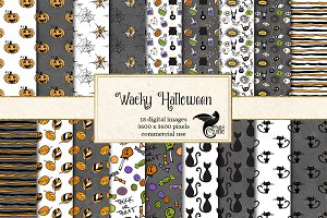 Wacky Halloween Patterns