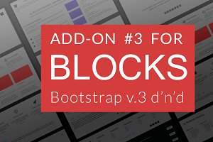 Bootstrap BLOCKS add-on 3