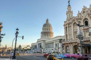 View of El Capitolio, Havana