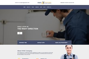 HVAC Services WordPress Theme