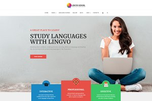 Lingvo Language School Theme
