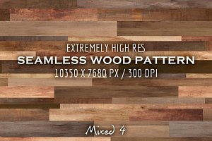 Extremely HR seamless wood pattern M