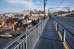 Porto From Dom Luis I Bridge