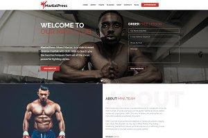 Martial Arts School WordPress Theme