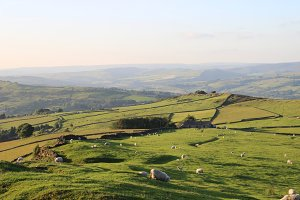 Countryside Peak District England